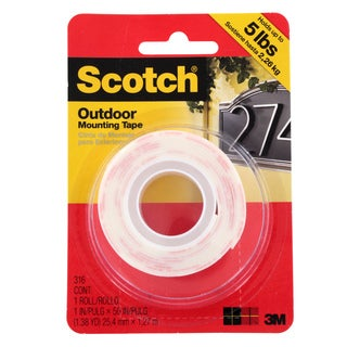 3M Command Scotch Super Strength Outdoor Mounting Tape