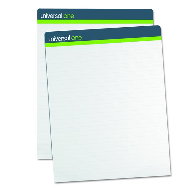 Universal One Sugarcane Based White Easel Pads (Pack of 2)