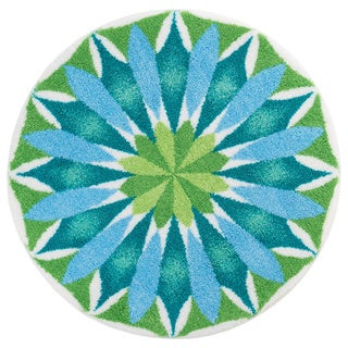 Sunrise Bath Rug by Grund America (48 x 48 inch)