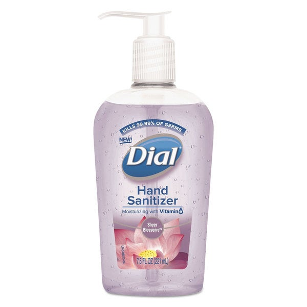 Dial Scented Sheer Blossoms Antibacterial Hand Sanitizer