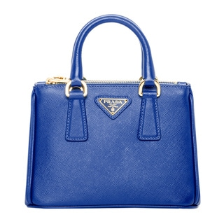 Prada Royal Blue Saffiano Leather Mini Tote