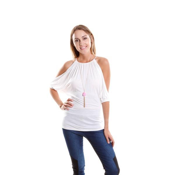 Hadari Women's High Neck Top