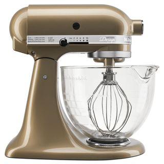 KitchenAid KSM155GBCZ Champagne 5-quart Artisan Stand Mixer