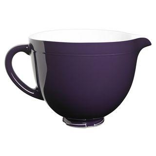 KitchenAid KSMCB5RP Regal Purple 5-quart Ceramic Bowl