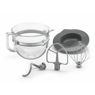 KitchenAid KSMF6GB 6-quart Glass Bowl Bundle