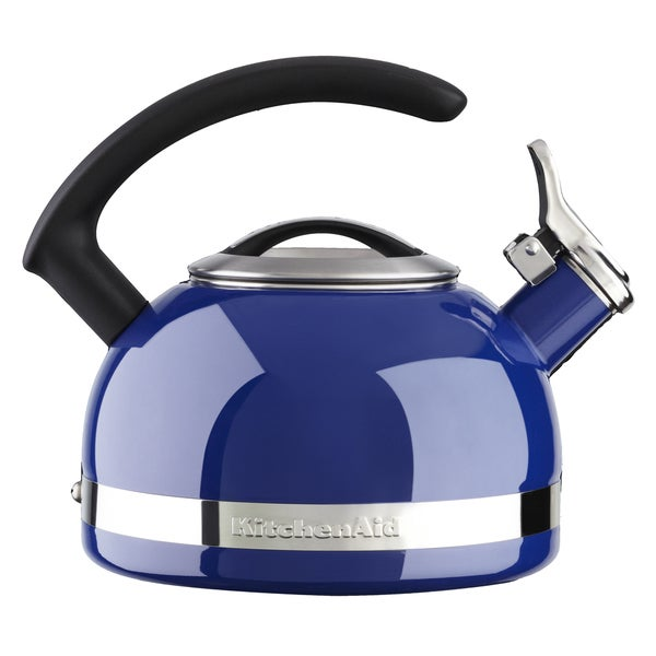 KitchenAid 2QT Blue Porcelain Enamel Kettle