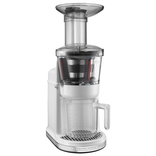 KitchenAid KVJ0111WH White Maximum Extraction Juicer