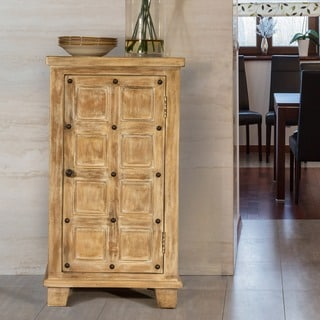 Hillsdale Furniture's Millstone 3-tier Cabinet with Nailhead