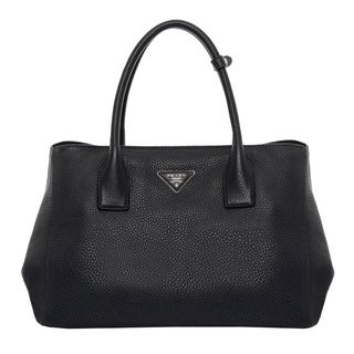 Prada Vitello Daino Garden Tote Bag