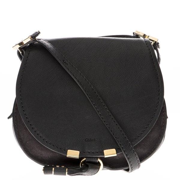 Chloe Marcie Black Crossbody Bag