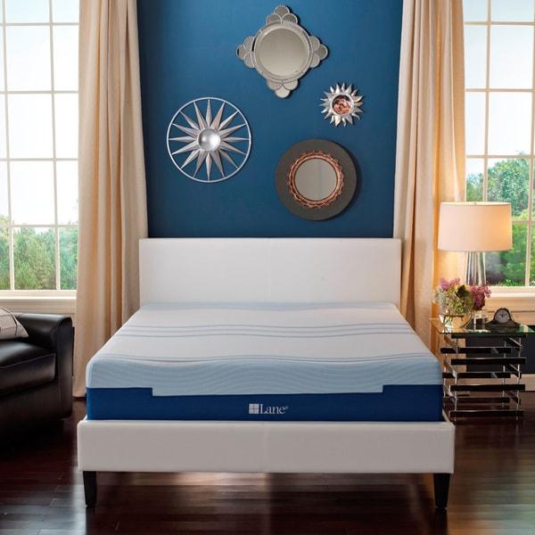 Sleep Sync by LANE 12-inch Full-size Flex Gel Foam Mattress