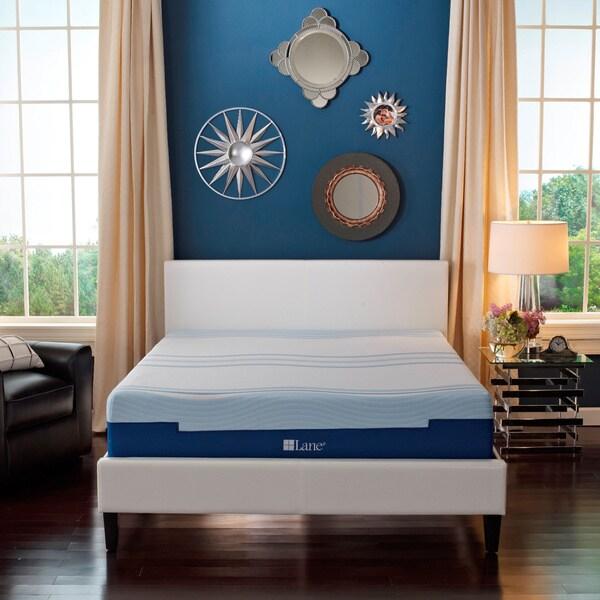 Sleep Sync by LANE 12-inch King-size Flex Gel Foam Mattress