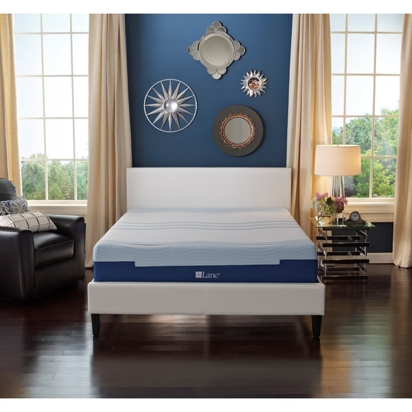 Sleep Sync by LANE 10-inch Twin-size Flex Gel Foam Mattress