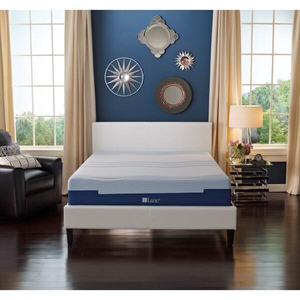Sleep Sync by LANE 8-inch Twin-size Flex Gel Foam Mattress