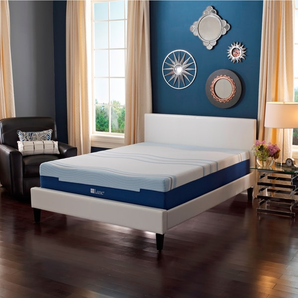 Sleep Sync by LANE 8-inch Queen-size Flex Gel Foam Mattress