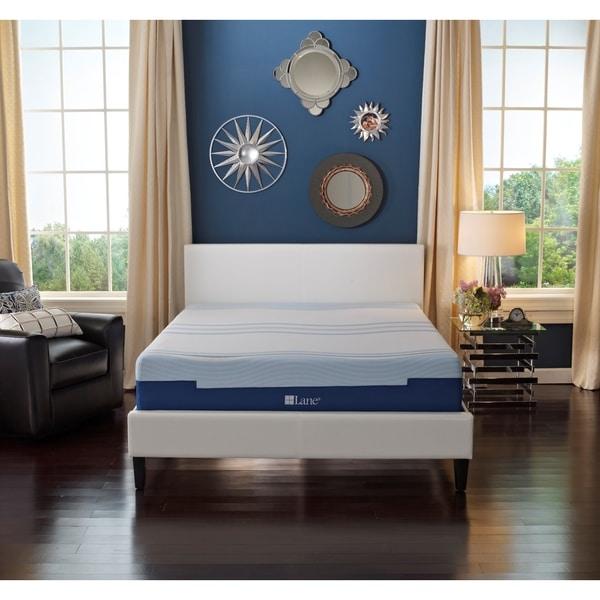 Sleep Sync by LANE 8-inch King-size Flex Gel Foam Mattress