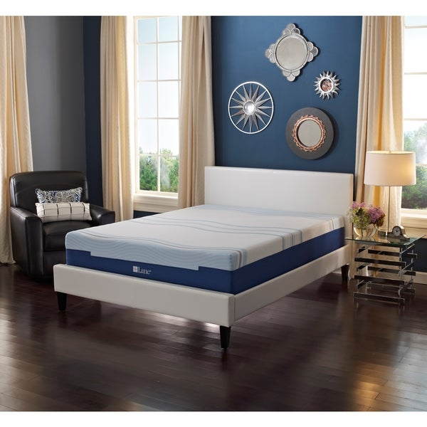 Sleep Sync by LANE 8-inch King-size Flex Gel Foam Mattress