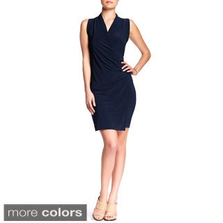 Von Ronen Women's London Crossover Wrap Dress