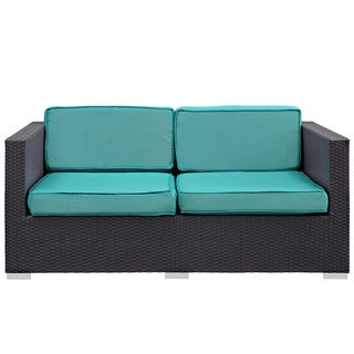 Modway 'Gather' Outdoor Patio Loveseat