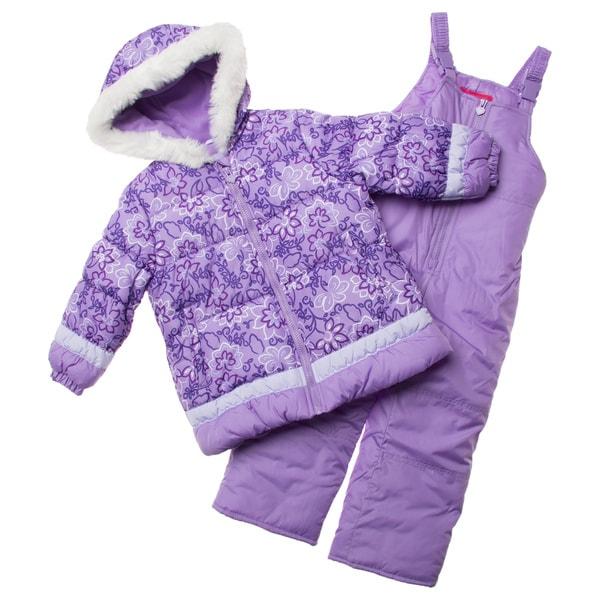 London Fog Little Girl's Snowsuit
