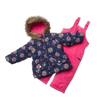 London Fog Toddler Girl Snowsuit