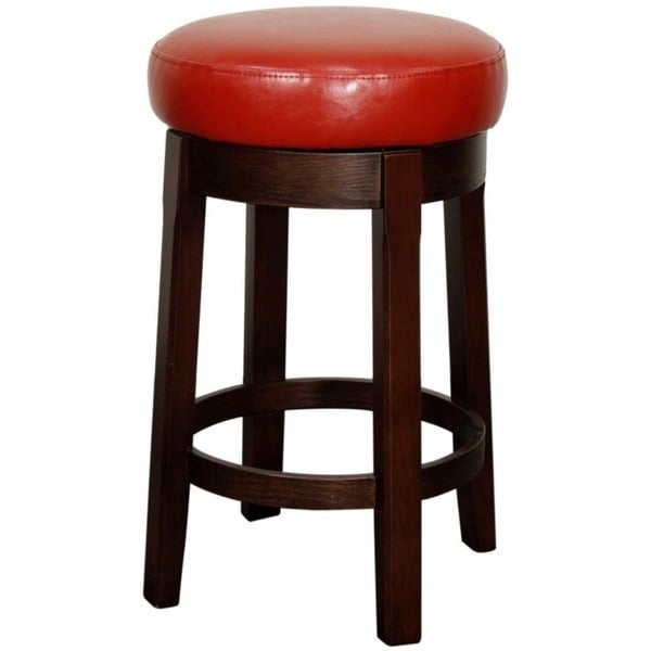 Camden Bonded Leather Swivel Counter Stool