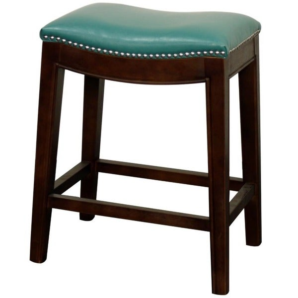 Elmo Bonded Leather Counter Stool 17365260 Overstock