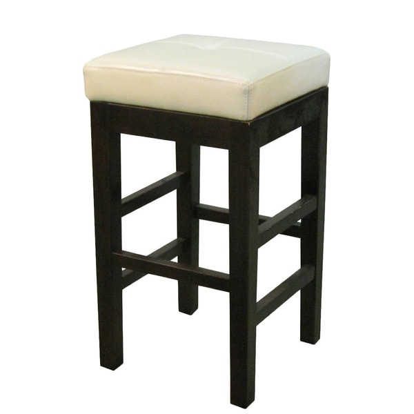 Valencia Backless Leather Counter Stool 17365263
