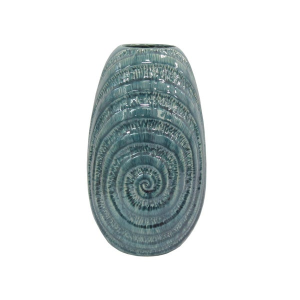 Aurelle Home Coil Vase 2 (Set Of 2)