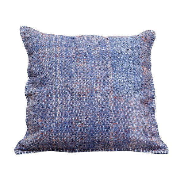 Aurelle Home Buket Cushion Blue