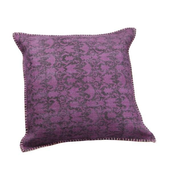 Aurelle Home Summer Purple 24-inch Cushion