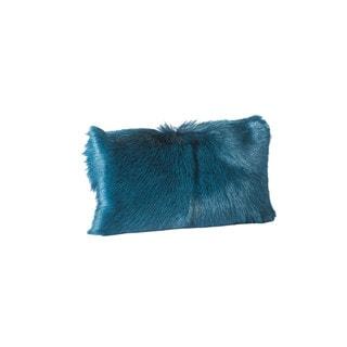 Aurelle Home Goat Faux Fur 12x20 inch Bolester Throw Pillow