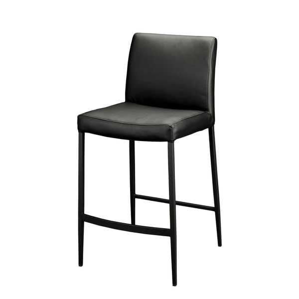 Aurelle Home Ana Counter-height stool in Black