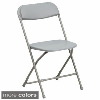 Blue, Red or Grey Folding Chair