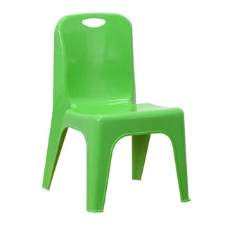 Blue, Red or Green Plastic Stack Chair