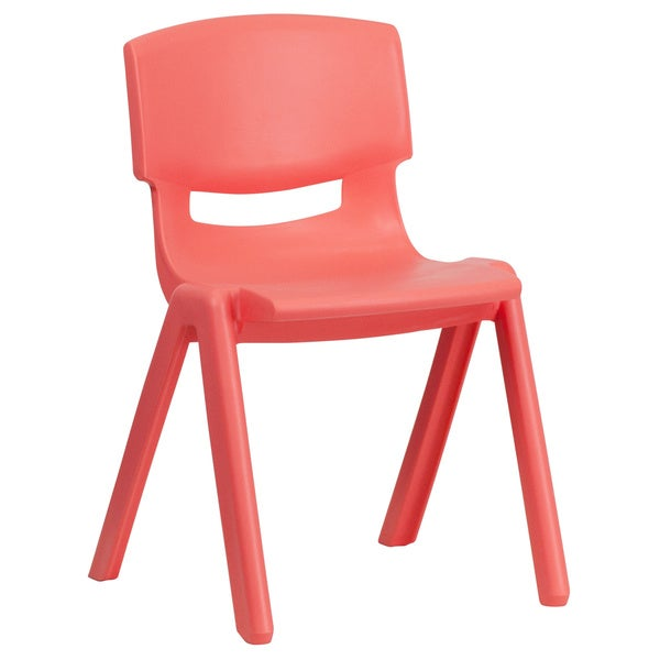 Plastic Red Stacking Chair