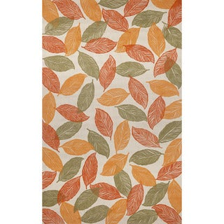 Cut Leaves Outdoor Rug (8' x 10')