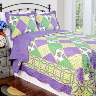 Slumber Shop Julia Reversible 3-piece Quilt Set