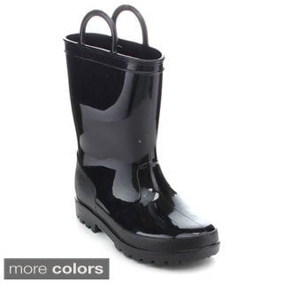 Jelly Beans JUDY Girls' Solid Color Rain Boots
