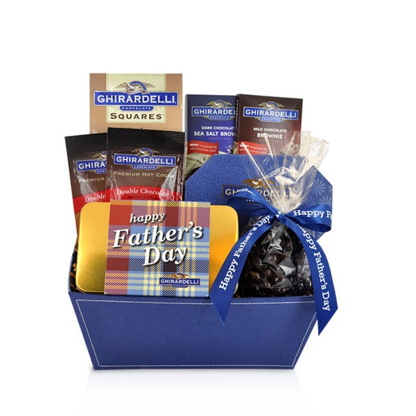 Ghirardelli Just for Dad Gift Basket
