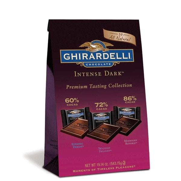 Ghirardelli Chocolate Intense Dark Premium Tasting Collection
