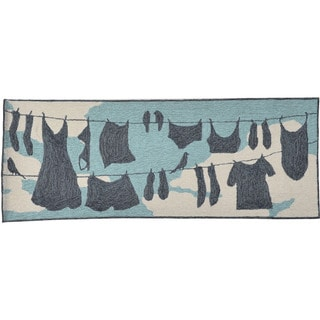 Laundry Day Outdoor Rug (2'3 x 6')