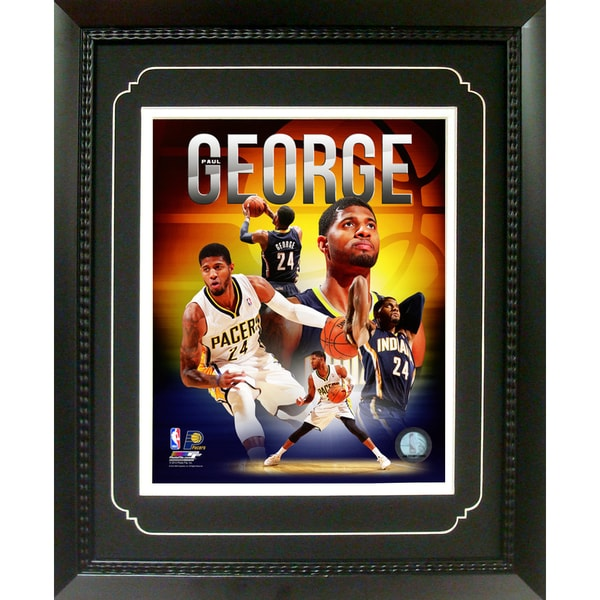 Paul George Indiana Pacers 11-inch x 14-inch Deluxe Frame 15601046