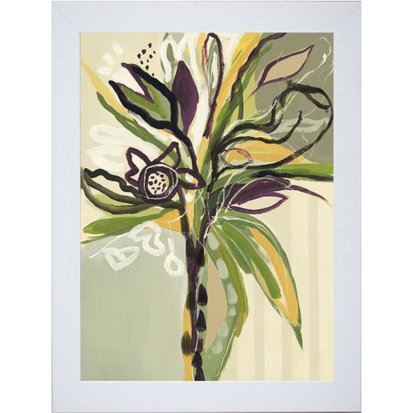 Angela Maritz 'Serene Floral l' 22 x 28 Framed Art Print