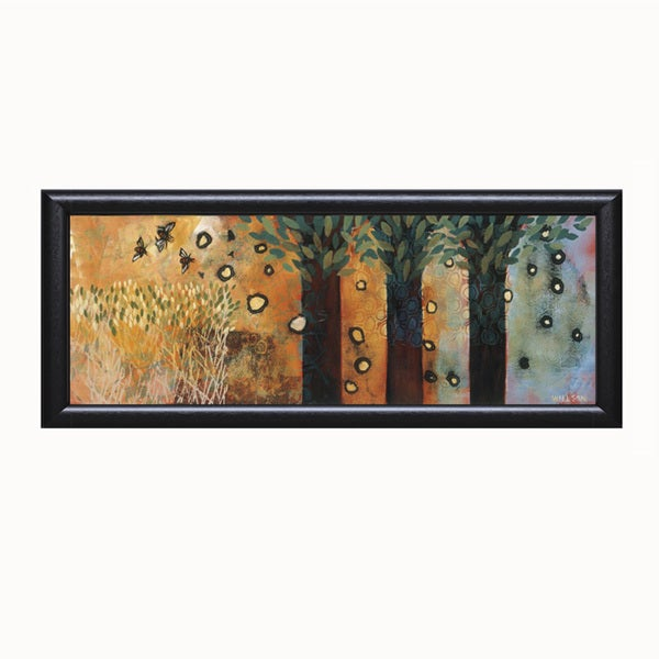 Valerie Willson-Charmed Days 40 x 16 Framed Art Print