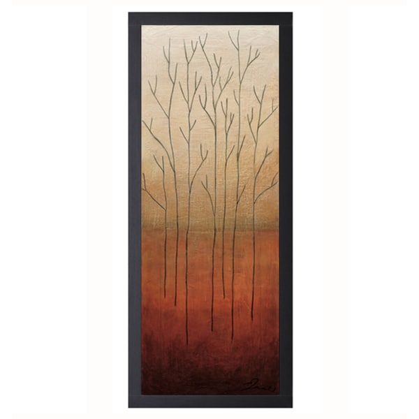 Eve-Branch Rouge ll 16 x 40 Framed Art Print