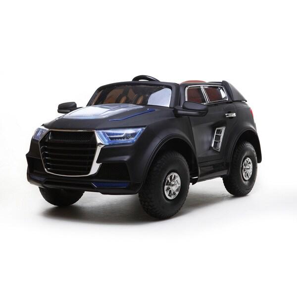 Best Ride On Car Q-731- SUV 12V Black