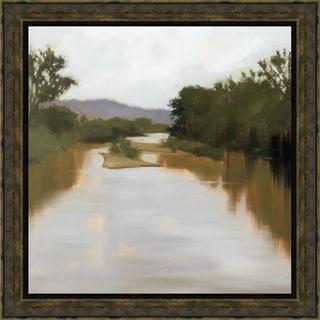 Megan Lightell-River Journey 40 x 40 Framed Art Print