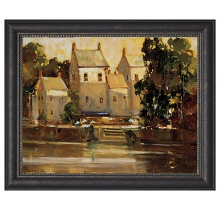 Ted Goerschner-Steps To The Manor 34 x 28 Framed Art Print