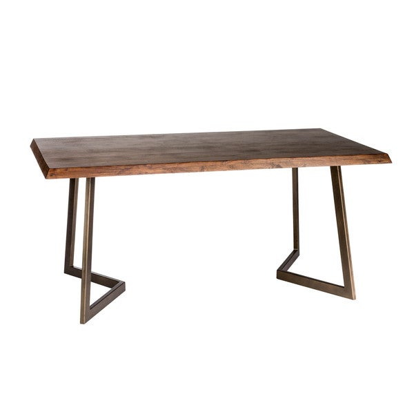 Aurelle Home Belvedere Rectangular Dining Table Small - Overstock ...